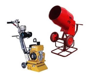 Concrete Equipment for Hire in Perth