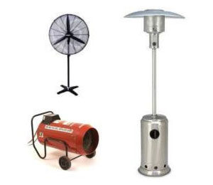 Fans & Heaters for Hire in Perth