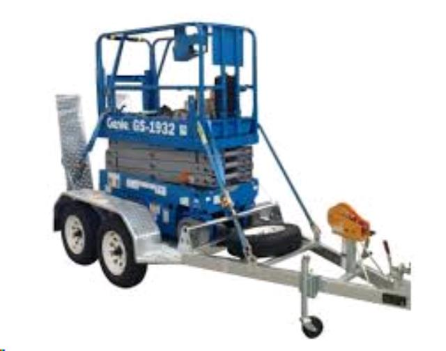 Where to find TRAILER TO SUIT SCISSOR LIFT in Perth